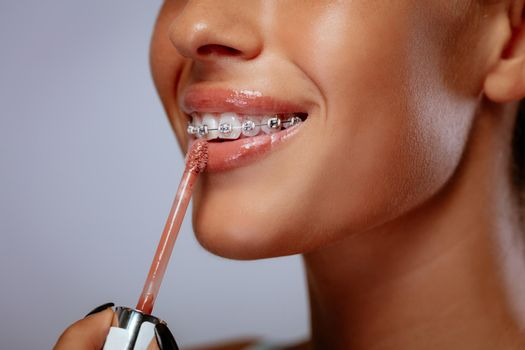 Lip Gloss For Perfect Smile