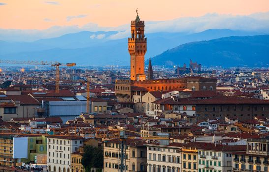 Tower of Palazzo Vecchio in Firenze
