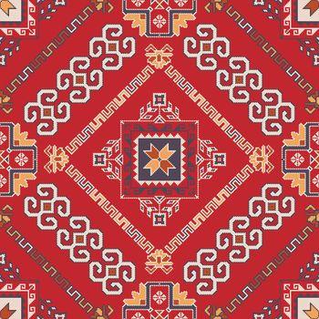 Georgian embroidery pattern 24
