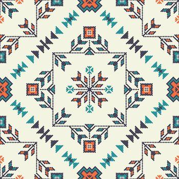 Georgian embroidery pattern 21