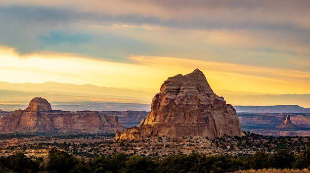 Chimney Rock in Utah