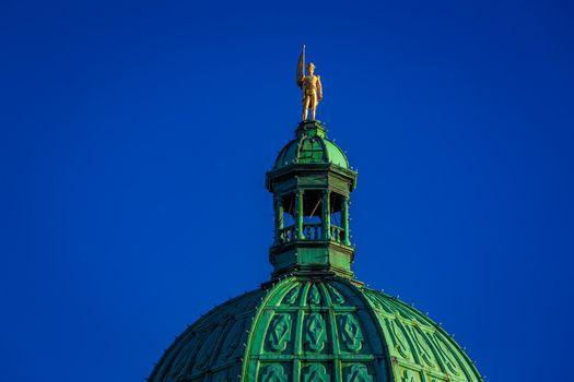 British Columbia Parliament Building top
