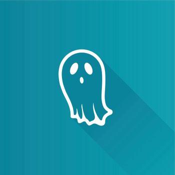 Metro Icon - Halloween ghost