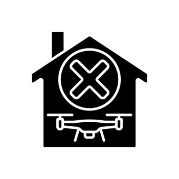 Dont use indoors black glyph manual label icon