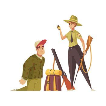Forest Ranger Illustration