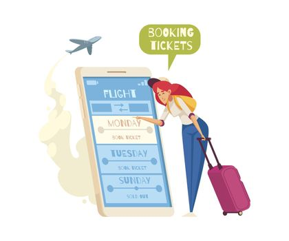 Booking Tickets Composition