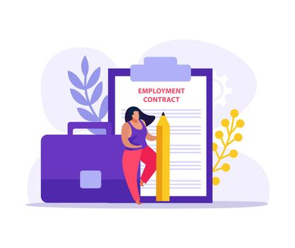 Employment Contract Icon