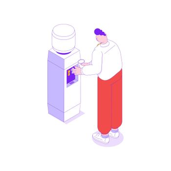 Office Cooler Icon