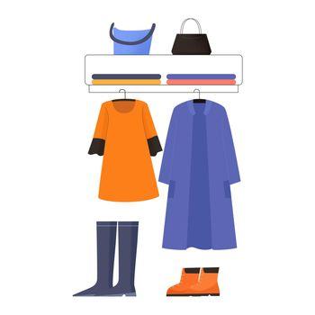 Clothing Stop Display