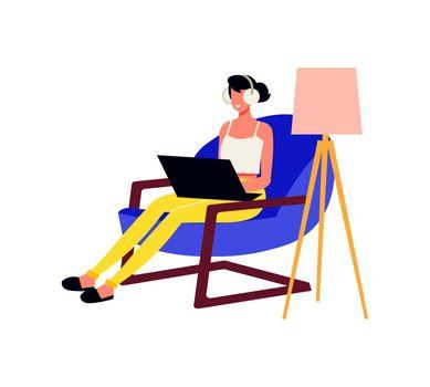 Comfortable Work Freelance Composition