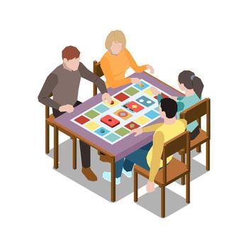 Board Game Illustration