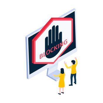 Internet Blocking Icon