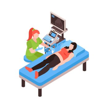 Stomach Screening Isometric Composition