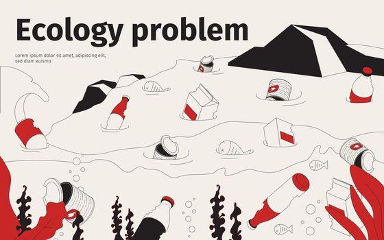 Ecology problem concept