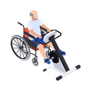 Wheelchair Training Rehabilitation Composition