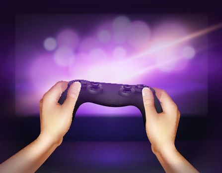 Gamepad Controller Background