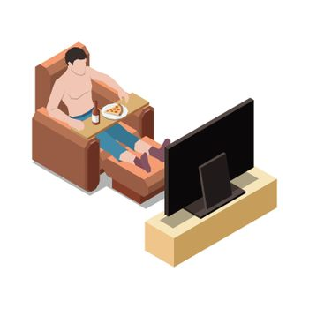 Eating To TV Composition