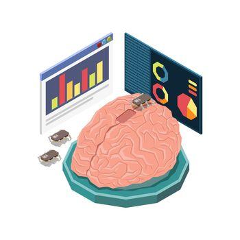 STEM Education Brain Composition