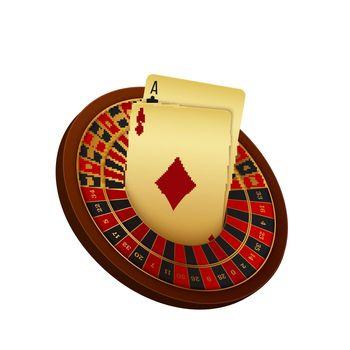 Realistic Casino Illustration
