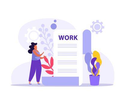Work Document Icon