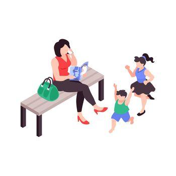 Super Mom Illustration