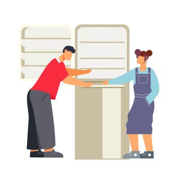 Home Appliance Store Illustration