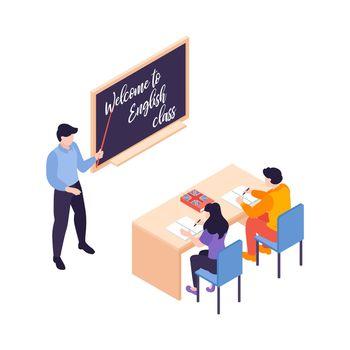 English Class Teacher Composition