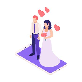 Married Online Isometric Composition