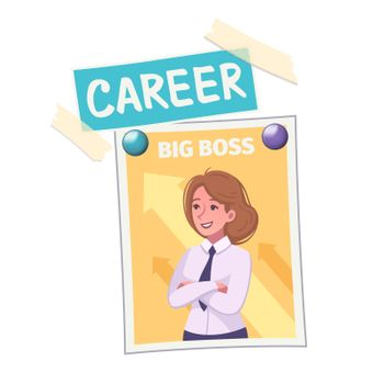 Vision Board Career Composition