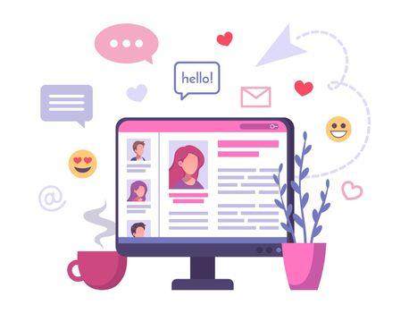 Online Relationship Service Composition