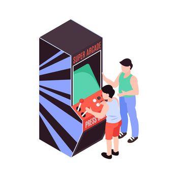 Game Machine Illustration