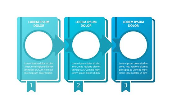 Educational adventure vector infographic template