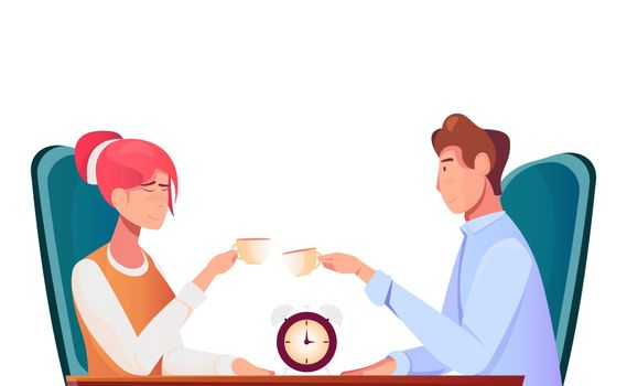 Speed Dating Flat Composition