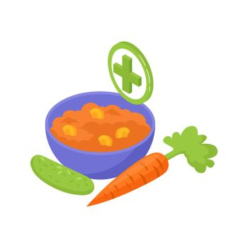 Eat More Fruits Composition