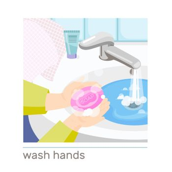 Washing Hands Composition