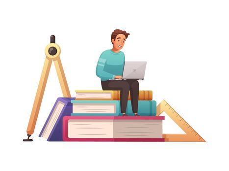 Studying Online Icon