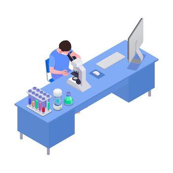 Vaccine Laboratory Workplace Composition