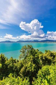 Phuket Thailand beach sea and sunlight. Thailand.