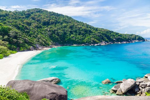 Beauty,Tropical beach, Similan Islands, Andaman Sea, Thailand