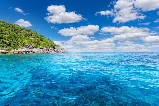 Andaman Sea at Similan Islands, Khao Lak, Phang-Nga, Thailand,