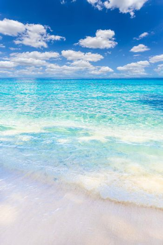 Beautiful sandy beach with wave crashing on sandy shore at Similan Islands Beautiful tropical sea Similan island No.4 at Similan national park, Thailand