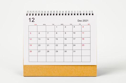 December Calendar 2021.