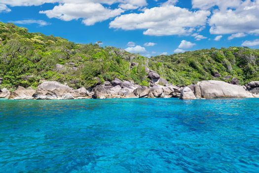 Beauty,Tropical beach, Similan Islands, Andaman Sea, National Park,  Thailand