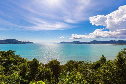 Phuket Thailand, Patong beach.