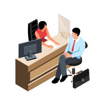 Bank Service Desk Composition