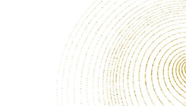 golden sparkle halftone swirl pattern background