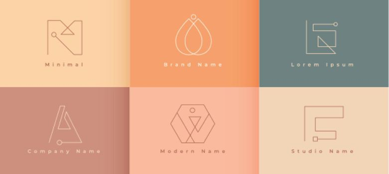 minimal logo designs for your business
