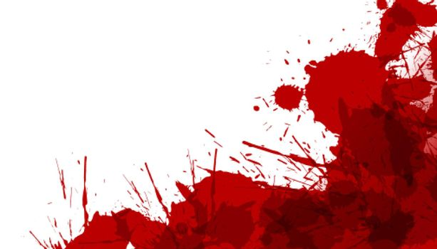 abstract blood stain spill splatter texture background