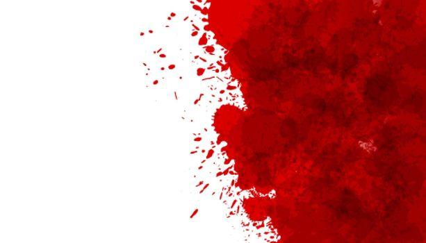 red blood splatter stain texture background