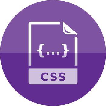 Circle icon - CSS file format